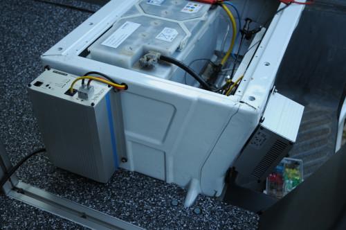 … Zweitbatterie mit neuer Elektrik