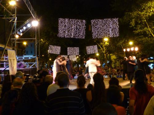 …Tango-Show auf der Avenida