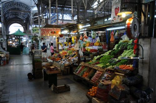 …Markthalle in San Telmo
