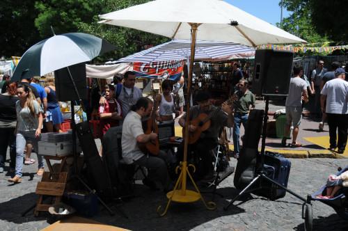 …San Telmo, Guitarreros