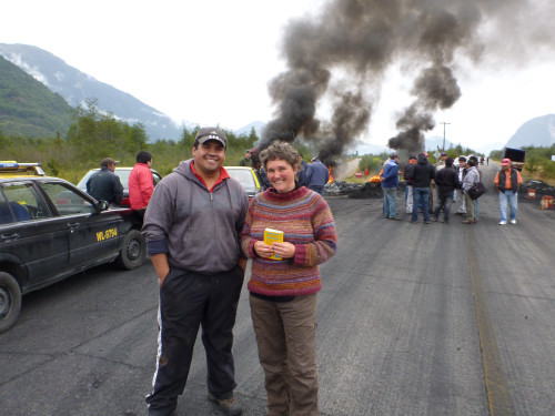 …Gespräch mit dem Blockadeführer