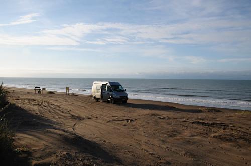 …am Strand von Peuhen-Co
